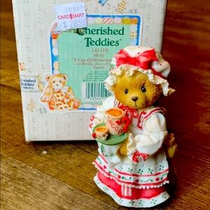 "NWT cherished teddy holly ""a cup of homemade love"""